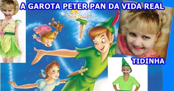 TIDINHA  GAROTA PETER PAN