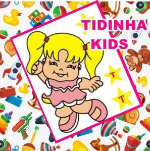logotipo tidinha kids
